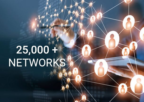 25000+ Networks - Indio Networks