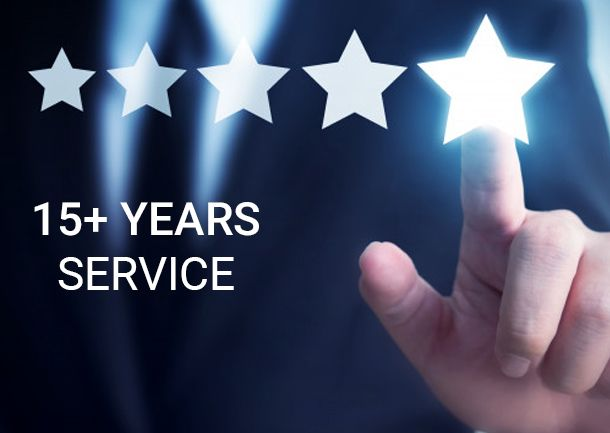 15+ years service - Indio Networks